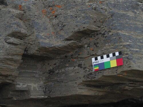 рисунки на скалах чукотских