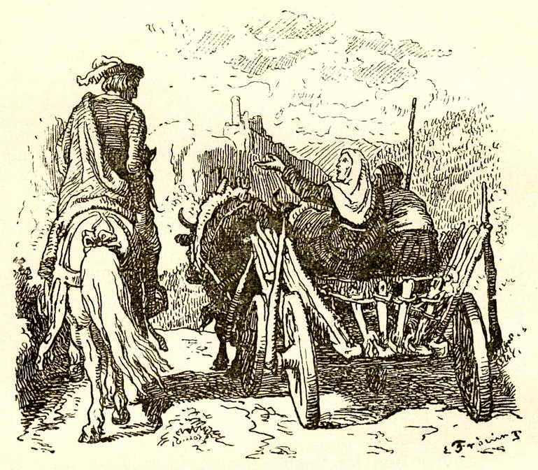 Ганс Христиан Андерсен.  Епископ Бьёрглумский и его родичи Лоренц Фрюлих.