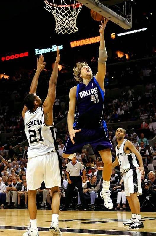 2000s Top 10 NBA Games - Mavs - Spurs 119-111 (OT) / 7-я игра Западного финала 2006