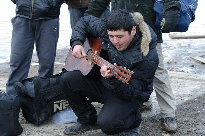 строители Саммита АТЭС 2012 о.Русский