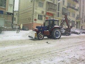 Из-за снегопада въезд большегрузных автомобилей во Владивосток ограничен