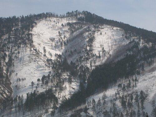 спуски гор к Селенге