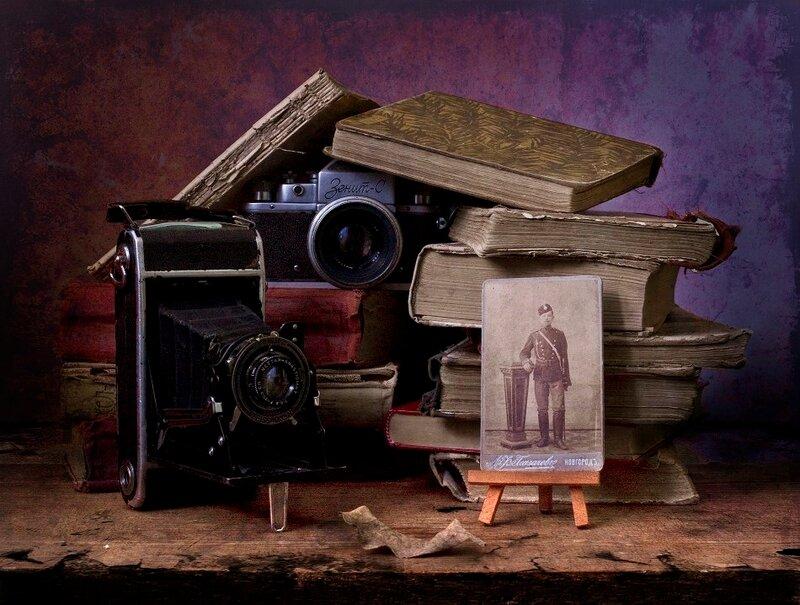фотонатюрморты, автор Владимир Осауленко