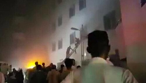 В больнице Саудовской Аравии произошёл пожар