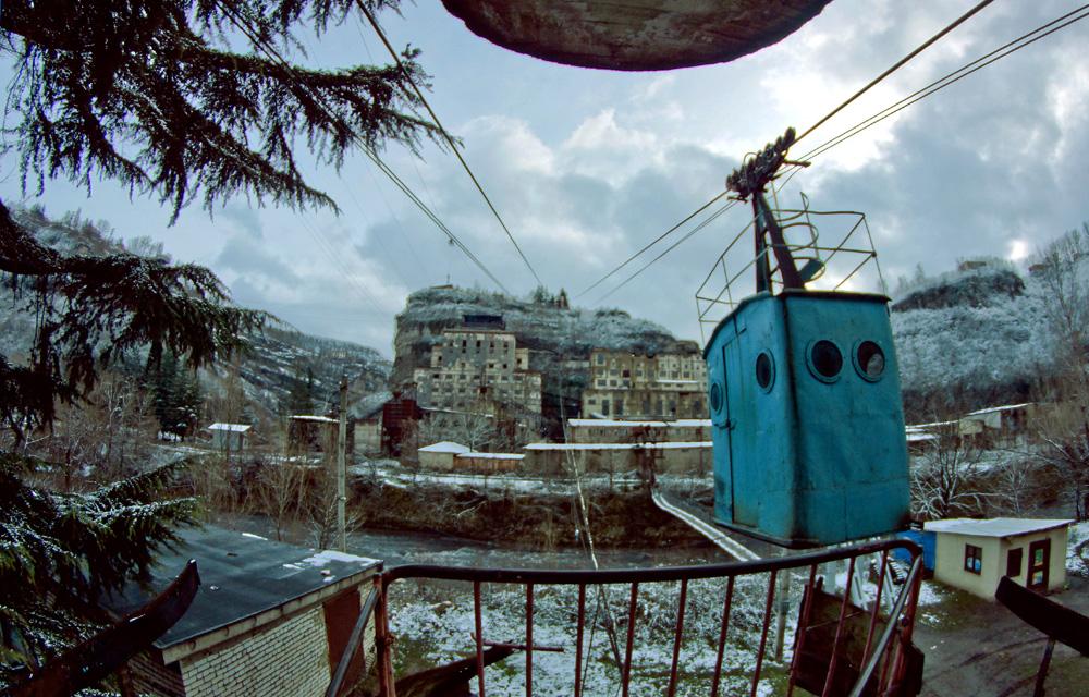 На сегодняшний день Чиатура остается единственным в мире городом с самым большим количеством подъемн