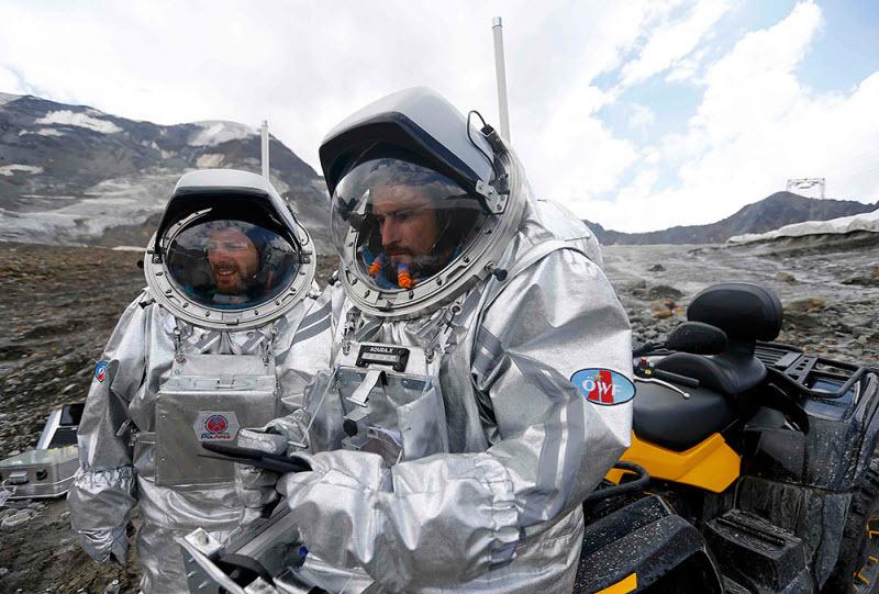 Как в Альпах готовятся к полету на Марс