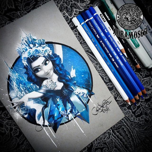 Арт карандашом
