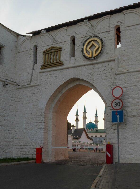Въезд на территорию Казанского кремля, Казань