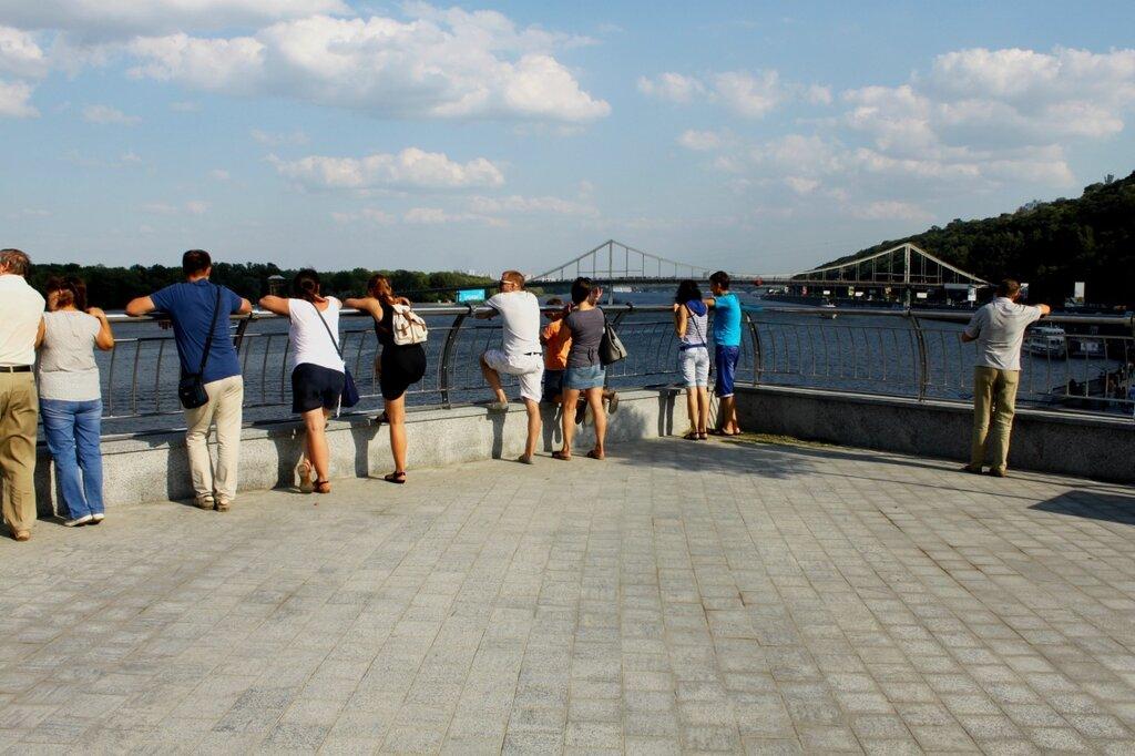 Новая смотровая площадка над речным портом