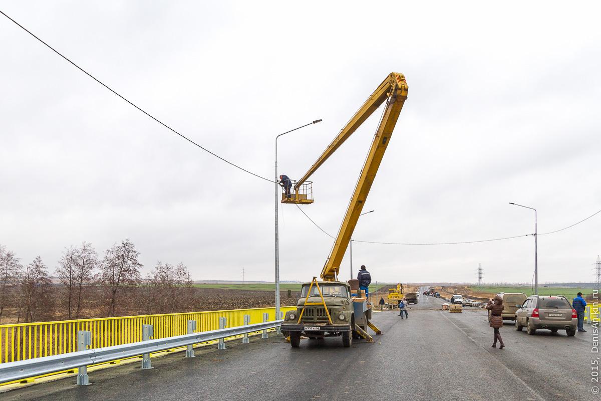 Строительство автодороги в обход Елшанки 13