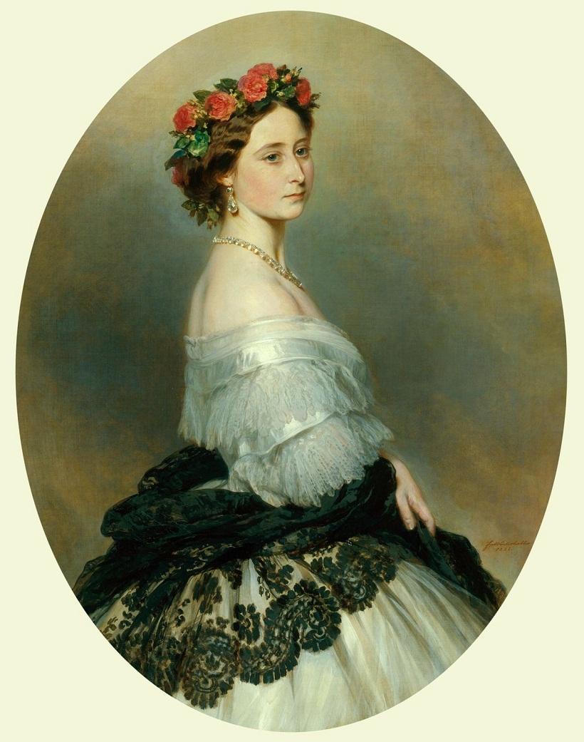 Принцесса Алиса (1843-78), позже Великая княгиня Гессен