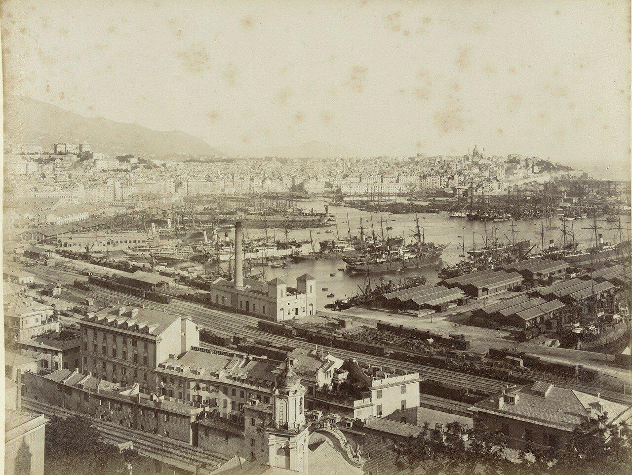 Панорама порта от виллы Розацца