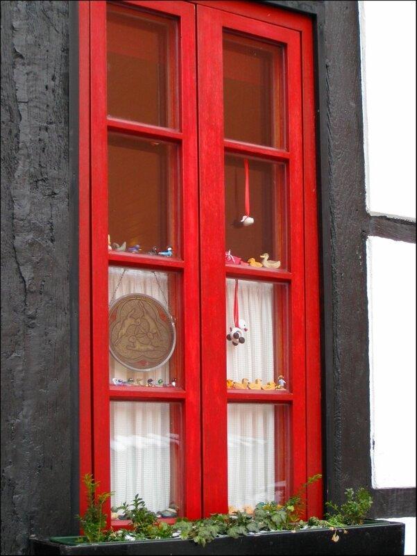 Оформление окна, Падерборн, фахверковые дома