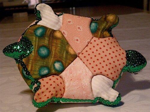Пэчворк-черепашка МОЙ МИЛЫЙ ДОМ - идеи рукоделия, вязание, декорирование интерьеров