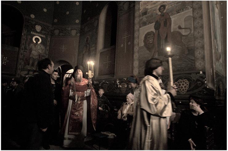 Пасха в Новом Афоне. © Фотограф Кузьмин