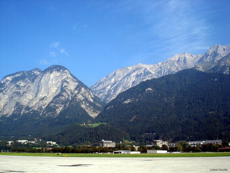 Innsbruck. Лётное поле.