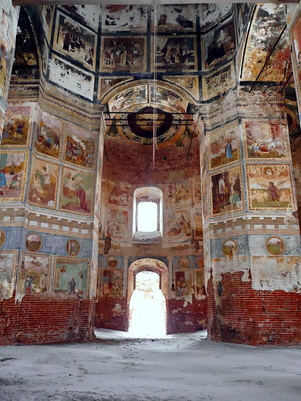 Роспись в Казанском храме...