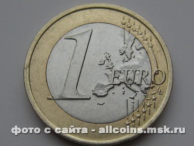 Монета 1 ЕВРО Словакия