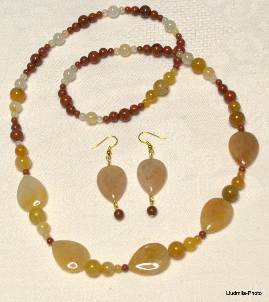 opal,brown opal,necklace,gift,earrings,red jasper,jewelry, semiprecious stones
