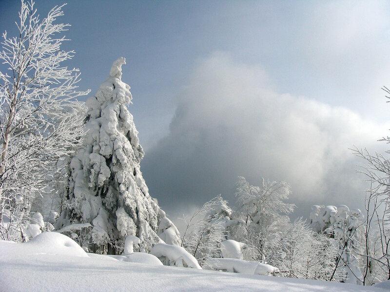 Облака на горе Полюд