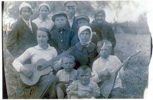 1936 год. Семья Сергеевых