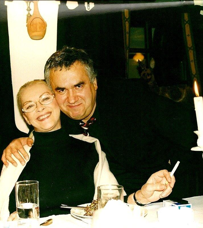 Барбара Брыльска и Стас Садальский.