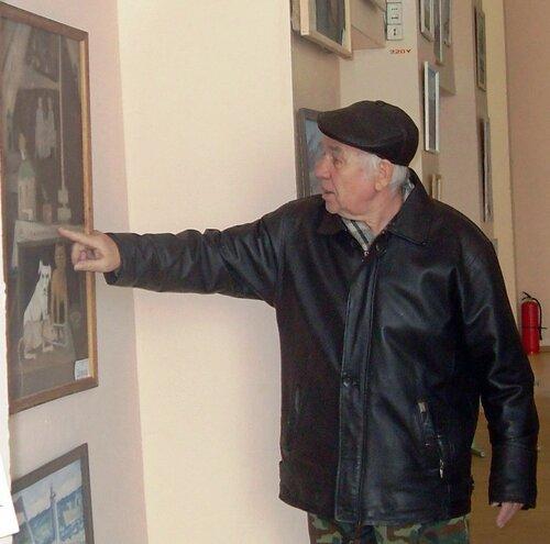 Художник В.А.Тилькиев
