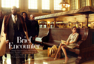 Brief Encounter / Natalia Vodianova & P. Diddy