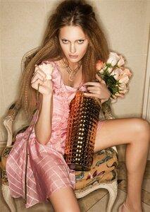 Luana Teifke в рекламной кампании Cris Barros