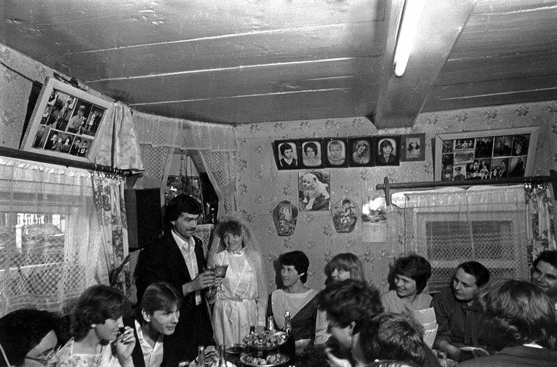 Деревенская свадьба. Татарстан, 1986. Фарит Губаев