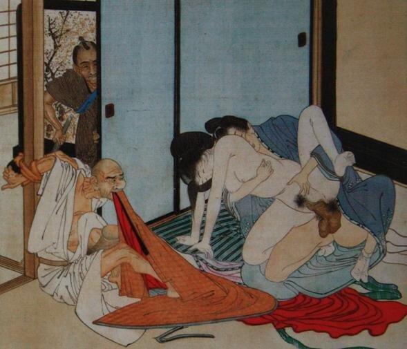 Эротические японские картинки