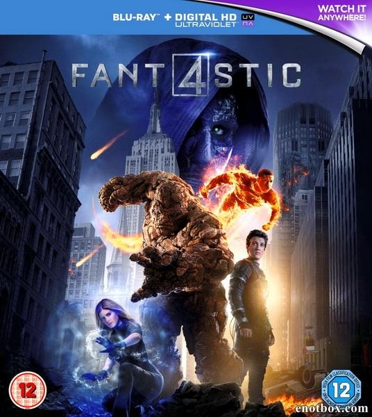 Фантастическая четверка / Fantastic Four (2015/BD-Remux/BDRip/HDRip)