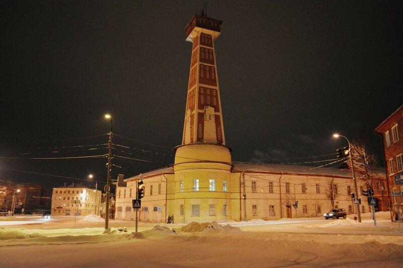 Ночной Рыбинск...Россия  (3 часть)