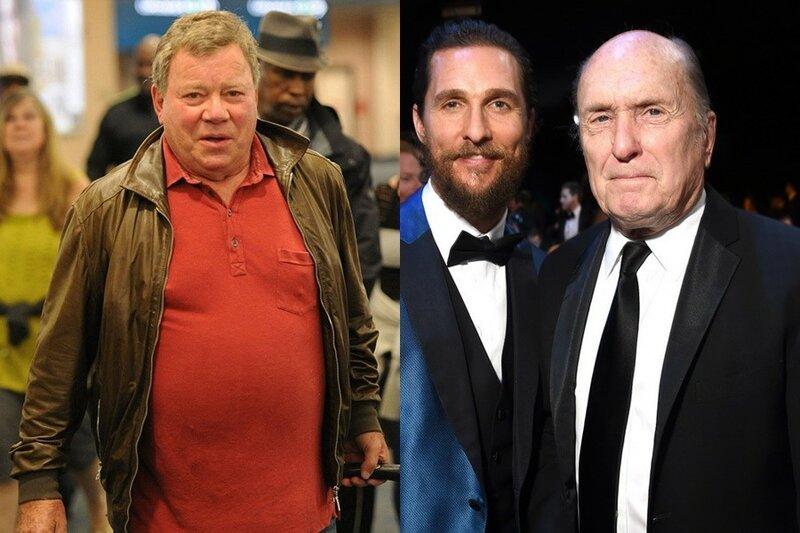 Знаменитости ровесники. Неожиданное сравнение фотографий