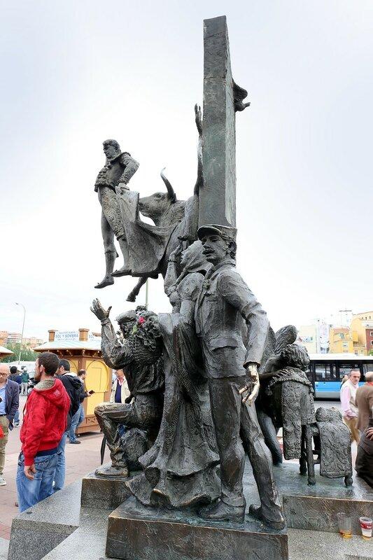 Мадрид. Памятник тореодору Хосе Куберо Санчесу (José Cubero Sánchez)