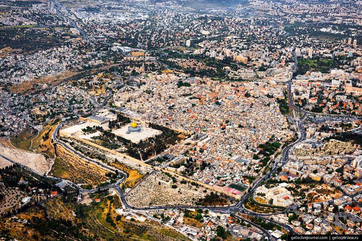 Израиль с высоты: Тель-Авив, Иерусалим и Мёртвое море (68 фото)