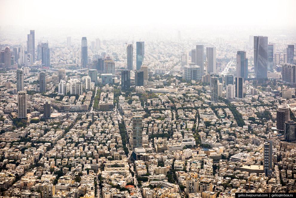 5. Белый город — это название, которое получил Тель-Авив из-за большого количества белых зданий, пос