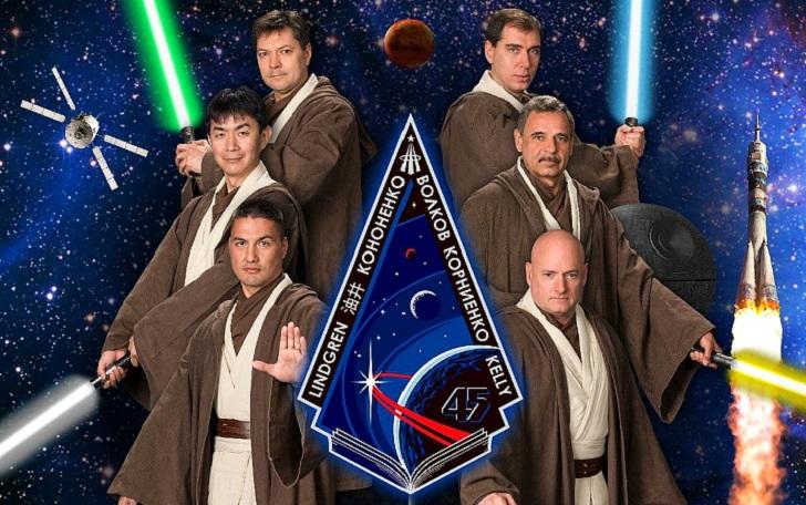 Забудьте о «Звездных войнах»… Это плакаты миссий МКС! (21 фото)