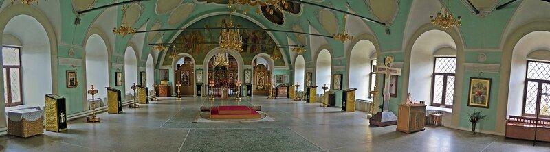 Храм Сергия Радонежского с трапезной. Москва.