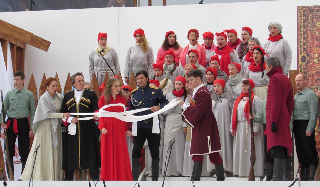 """Опера """"Мазепа"""" в Санкт-Петербурге 12 июля 2015 года"""