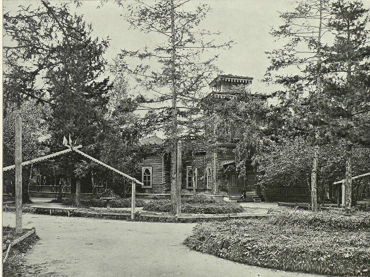 Городской сад и дом Благородного собрания