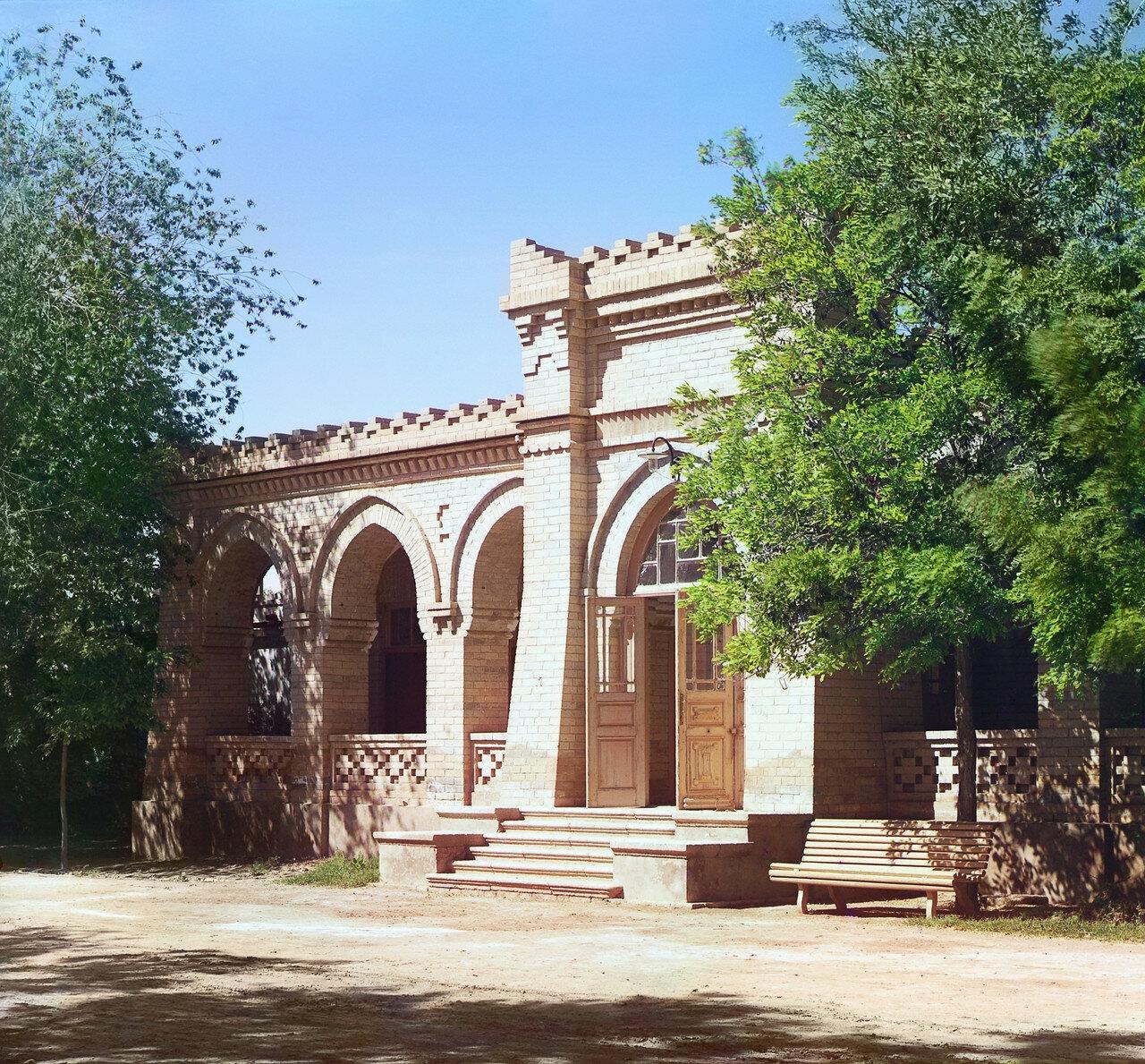 Окрестности Мерва. Байрам-Али. Мургабское имение. Дом помощника управляющего Мургабским имением