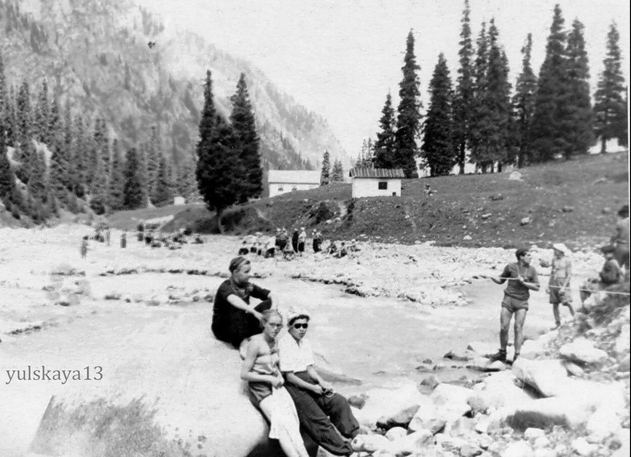 18. Занятия - переправа через горную реку