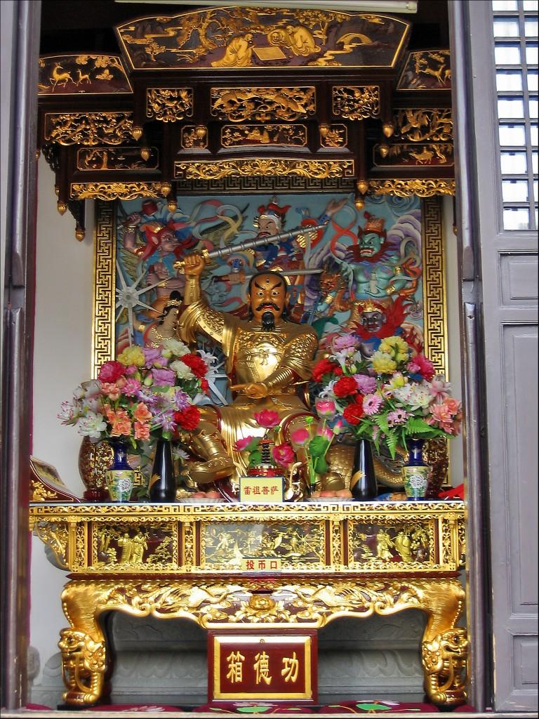Бодхисаттва Лэйцзу, монастырь Гуйюань, Ухань