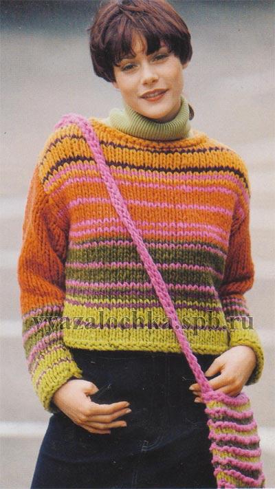 Манишка и воротник спицами. манишка детская схема вязания спицами.