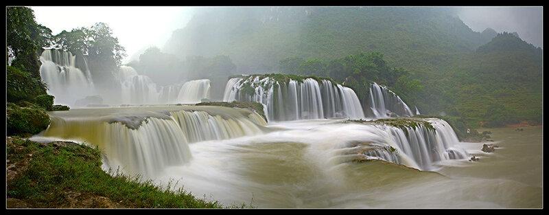 Водопад Ban Gioc