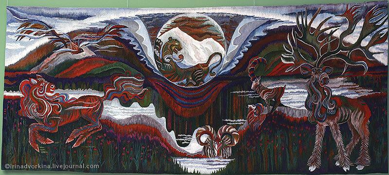 Л. Соколова. «Вечность» (1988). ГМЗ «Царицыно».