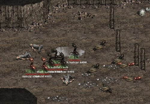 конец рейда к хелицерам