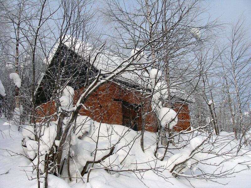 Домик на горе Полюд