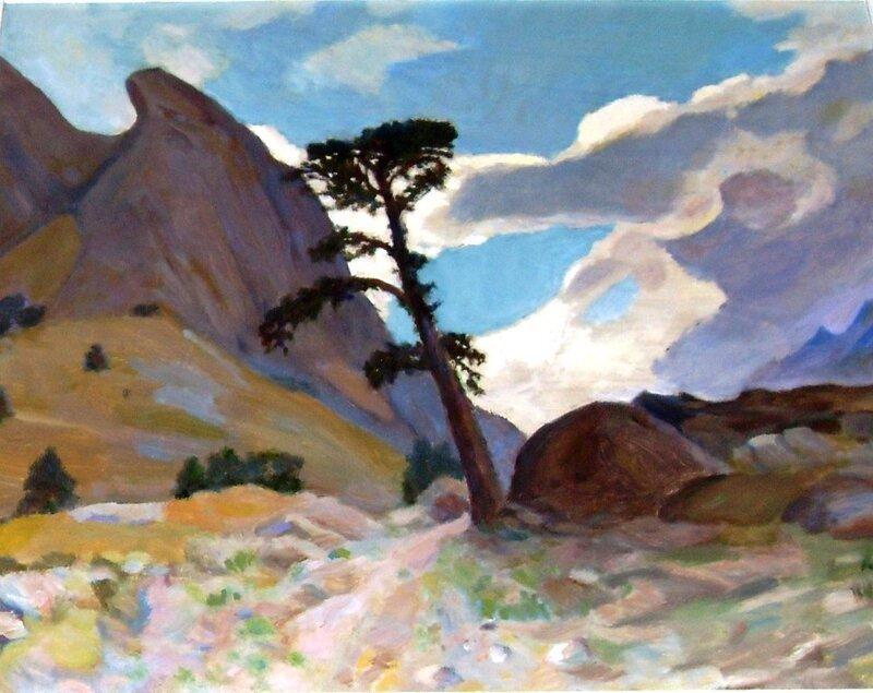 Выставка картин Тилькиева В.А. (12)